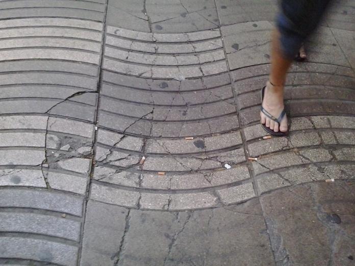 Pavimento de la Rambla