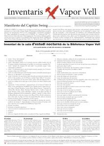 Inventari Vapor Vell 5